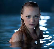 Gemma Ward, Mermaid by fine-art-prints