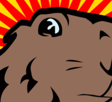 Dramatic Chipmunk Sticker