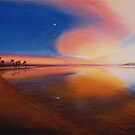 Sunset Clearing by Sharon Ebert