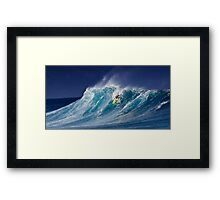 The Art Of Surfing In Hawaii 7 Framed Print