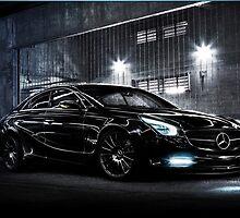 Mercedes Benz CLS Concept by fine-art-prints