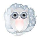 Christmas Wildlife: Snowy Owl by Jenny Lloyd