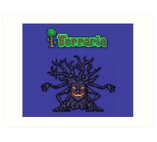 Terraria Mourning Wood Art Print