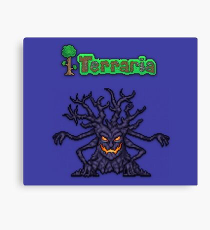 Terraria Mourning Wood Canvas Print
