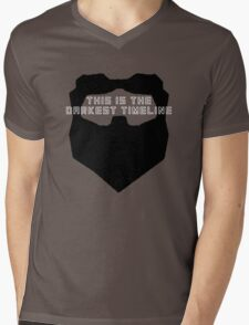 This Is The Darkest Timeline Mens V-Neck T-Shirt