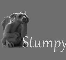 The Librarians Stumpy in greyscale by dogandbooks