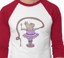 Music Box Mouse Men's Baseball ¾ T-Shirt