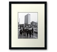 Kızılay meydanı Framed Print