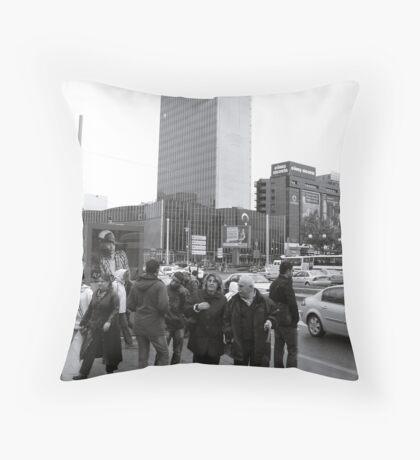 Kızılay meydanı Throw Pillow