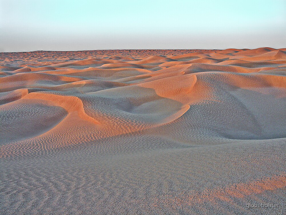 Open Desert by globeboater