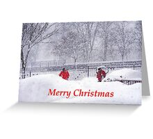 Xmass Card.  Greeting Card