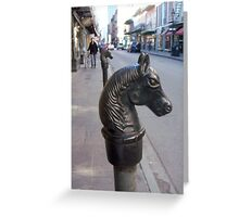 Rue Royale, French Quarter Greeting Card