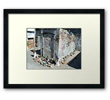 The tomb of Marie Laveau  Framed Print