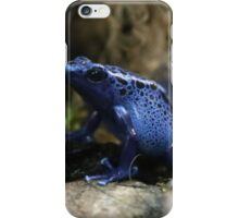 Blue Poison Arrow Frog iPhone Case/Skin