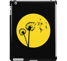 Dandylion Flight - Reversed Circular iPad Case/Skin