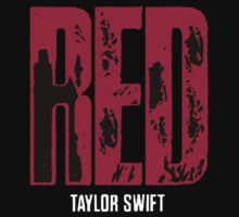 Red Taylor Swift Shirts by Double-T