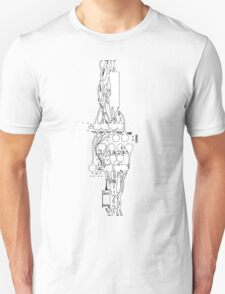 entanglement of wires Unisex T-Shirt