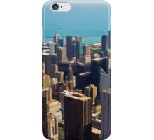 Aerial view of Chicago IL iPhone Case/Skin