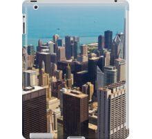 Aerial view of Chicago IL iPad Case/Skin