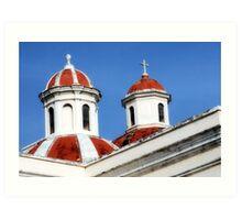 San Juan, Cathedral Art Print