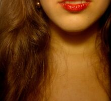 Red Lips by Lyraspiral