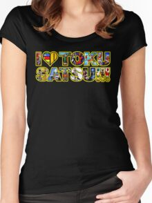 I LOVE TOKUSATSU!!! Women's Fitted Scoop T-Shirt