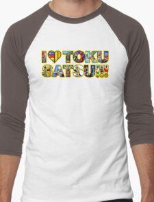 I LOVE TOKUSATSU!!! Men's Baseball ¾ T-Shirt