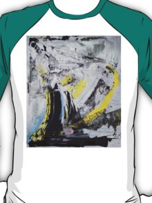 Drawing On Stone - Original painting on Canvas Mixed media by famous Russian musician  T-Shirt