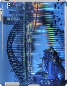 Twilight - Moods Of A City - The HDR Experience IPAD Case by Philip Johnson