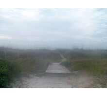 Morning fog on the Atlantic Coast Photographic Print