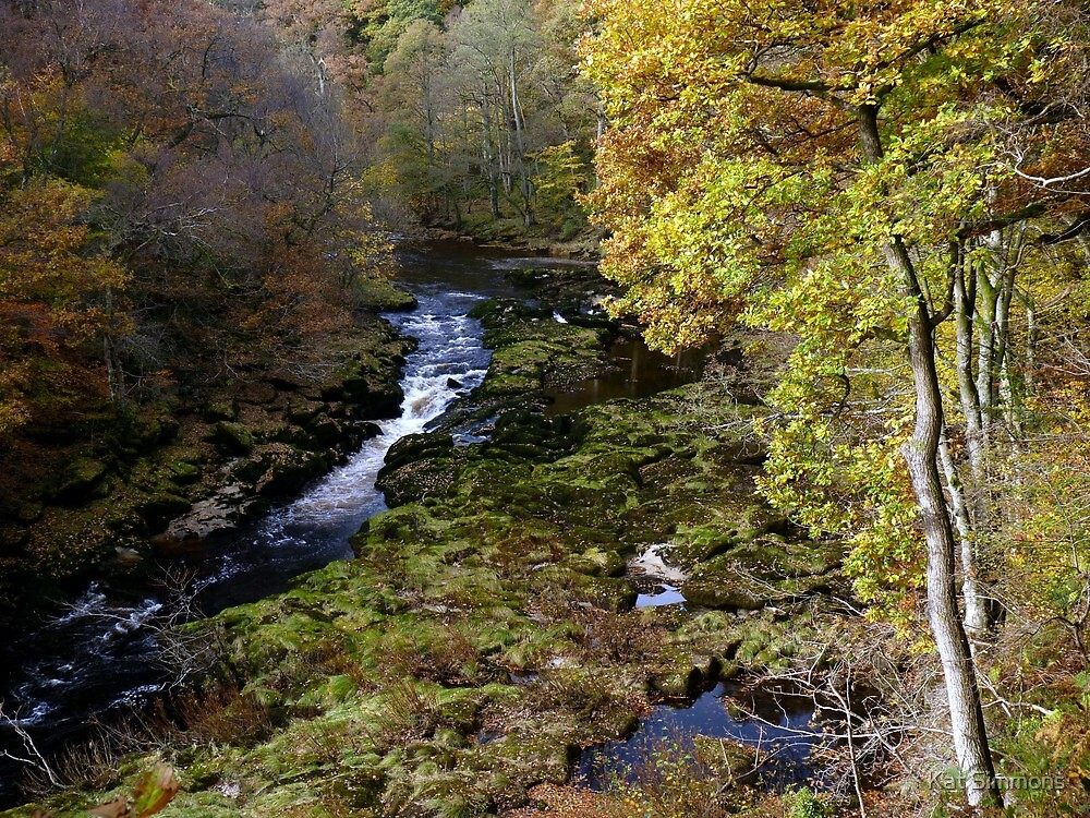 Bolton Abbey Strid by Kat Simmons