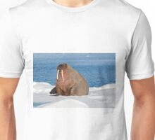 Walrus on pack ice Unisex T-Shirt