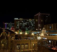 Kansas City Plaza Lights by TeeMack