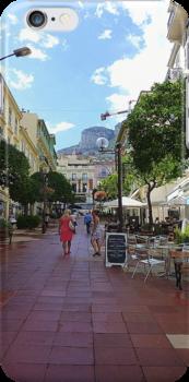 Monaco iPhone Case by Fara