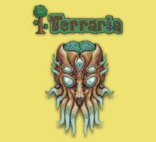 Terraria Moon Lord Head Kids Tee