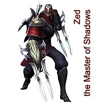 Zed - The Master Of Shadows Photographic Print