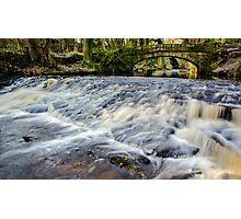 Rivelin River Footbridge Photographic Print