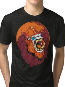 Beast Man  Tri-blend T-Shirt