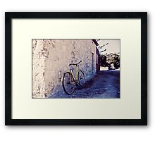 Olde Bike Framed Print
