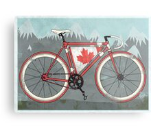 Love Bike, Love Canada Metal Print