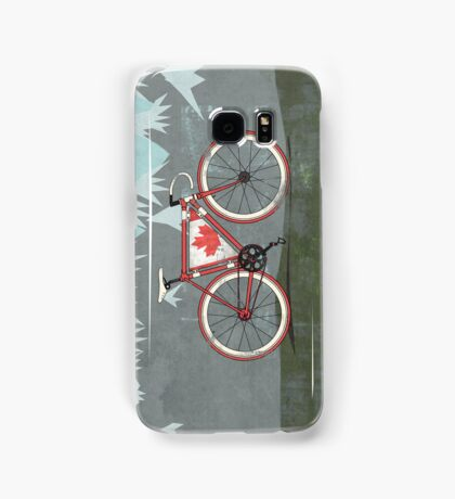 Love Bike, Love Canada Samsung Galaxy Case/Skin