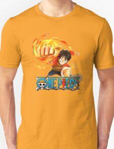 luffy fire T-Shirt