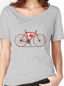 Love Bike, Love Canada Women's Relaxed Fit T-Shirt