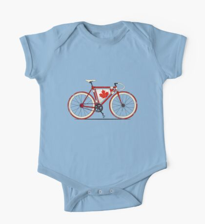 Love Bike, Love Canada One Piece - Short Sleeve