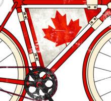 Love Bike, Love Canada Sticker