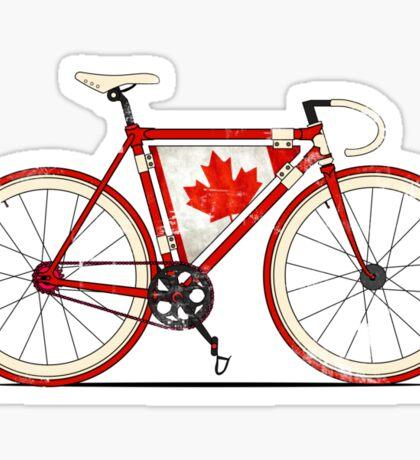 Love Bike, Love Canada Sticker