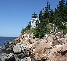 Bass Harbor Light by MarquisImages