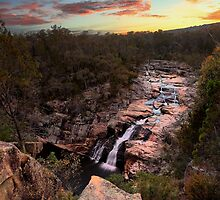 Woolshed Falls by Mark Cooper