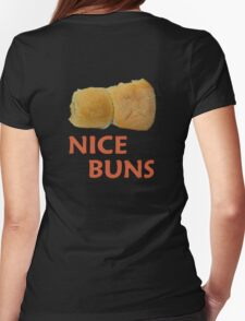nice buns 2 Womens Fitted T-Shirt
