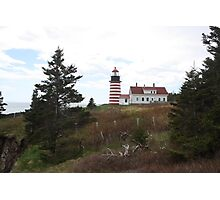 West Quoddy Lighthouse 2 Photographic Print